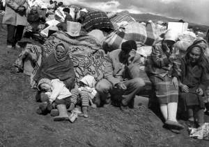 Операция «Кольцо». Беженцы. Фото Яромира Штетины (Чехия)