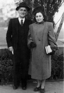 Вагинак Ильич и Лейли Хачатуряны