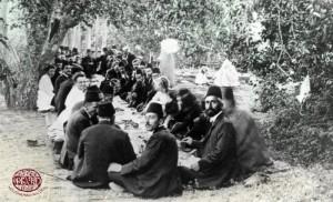 Армянское застолье