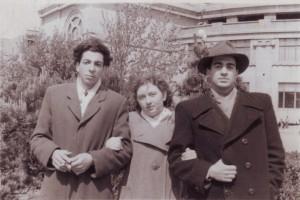 Таривердиев, я и друг Гарика Леонид из Тбилиси