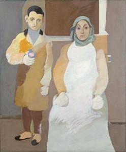 Художник с матерью. Ок. 1926–1936