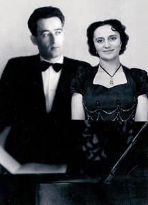 Զարուհի Դոլուխանյանը ամուսնու՝ Ալեքսանդր Դոլուխանյանի հետ