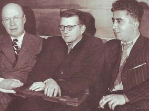 Сергей Прокофьев, Дмитрий Шостакович и Арам Хачатурян