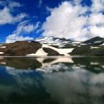Виген Ахвердян, Арагац в озере