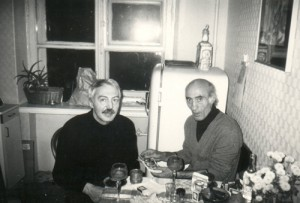 Андрей Битов и Грант Матевосян