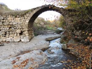 Мост Акнахбюра. 17в. с.Аветараноц.