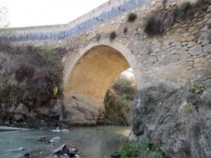 Мост Мази. 1825г. г.Степанакерт.