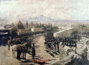 «Взятие русскими войсками Эриванской крепости», худ. Ф. А. Рубо (1893
