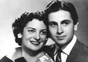Գոհար Գասպարյանը ամուսնու՝ Տիգրան Լևոնյանի հետ