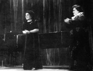Գոհար Գասպարյանը Վալերիա Բարսովայի հետ