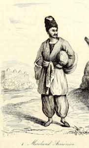 Армянский купец, гравюра из кн.: J. B. B. Eyries. Voyage pittoresque... T. I, 1839 [596]