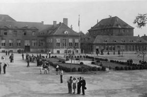 Общий вид армянского лагеря в Штутгарте