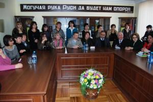 Открытие Центра друзей русской культуры в Арцахском государственном университете