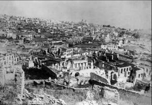 Шуши после армянских погромов 1920 г