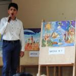 Фестиваль рисунков школьников на музыку Микаэла Таривердиева. г. Степанакерт, школа № 5
