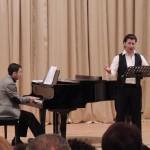 Сар Саркисян исполняет произведения М.Таривердиева. За роялем Арен Аветян