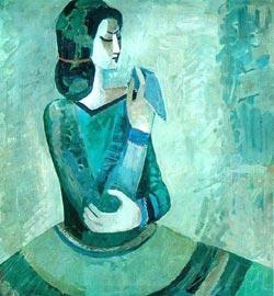 Минас Аветисян. Девушка с платком (1966)