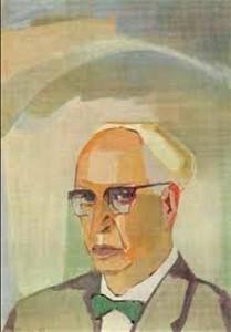 Минас Аветисян. Портрет писателя Костана Заряна (1965)