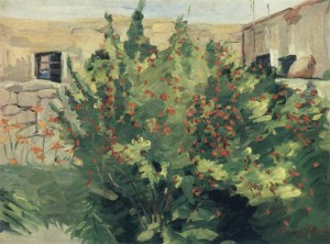Мартирос Сарьян. Цветущий гранат, 1947