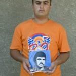 Арутюнян Ованес родился 23.08.1994, Арутюнян Хенрик погиб 27.01.1994