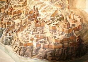 Город Ани. Фрагмент реконструкции