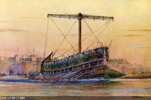 Ассирийский корабль