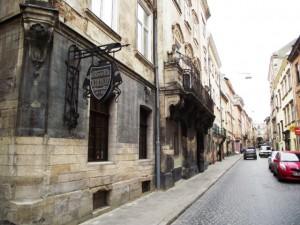 Одна из старейших улиц Львова - Армянская