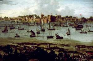 Порт Сурат. Неизвестный голландский автор 17 века