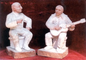 Карен Григорян. Скульптурные портреты Вагаршака и Григория Арутюнянов