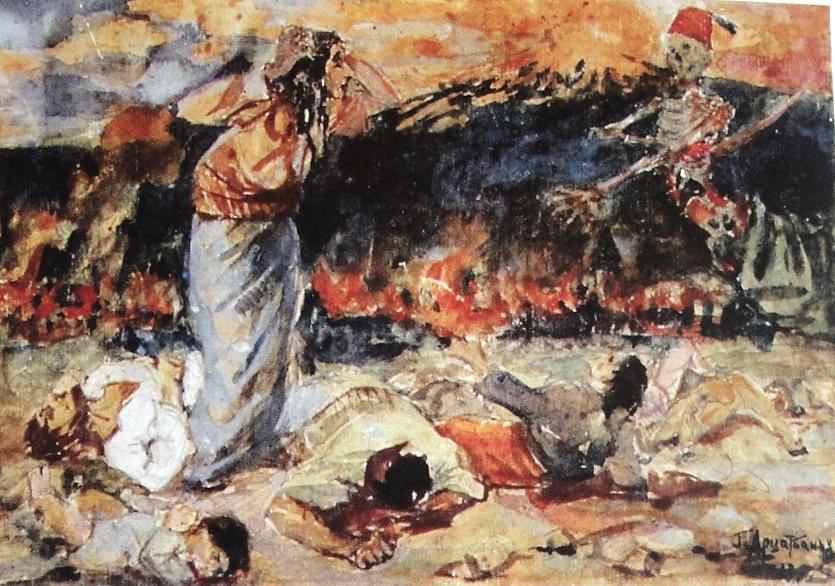 Амаяк Арцатбанян. Резня
