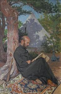 Ф. Терлемезян. Портрет Комитаса