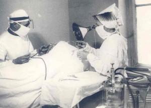 Георгий Давтян во время операции