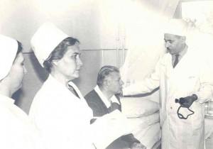Георгий Давтян в госпитале в Ереване