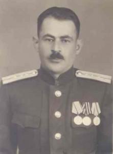 Георгий Давтян с фронтовым наградами