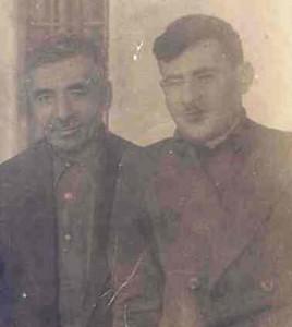 Георгий Давтян со своим отцом Месропом