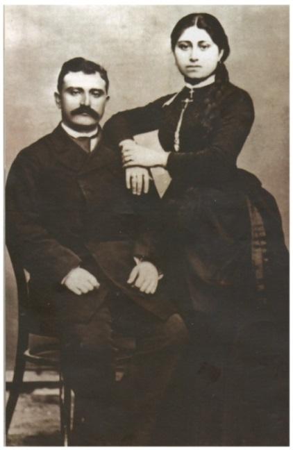 Е. Б. Джанполадян с женой. Частный Архив