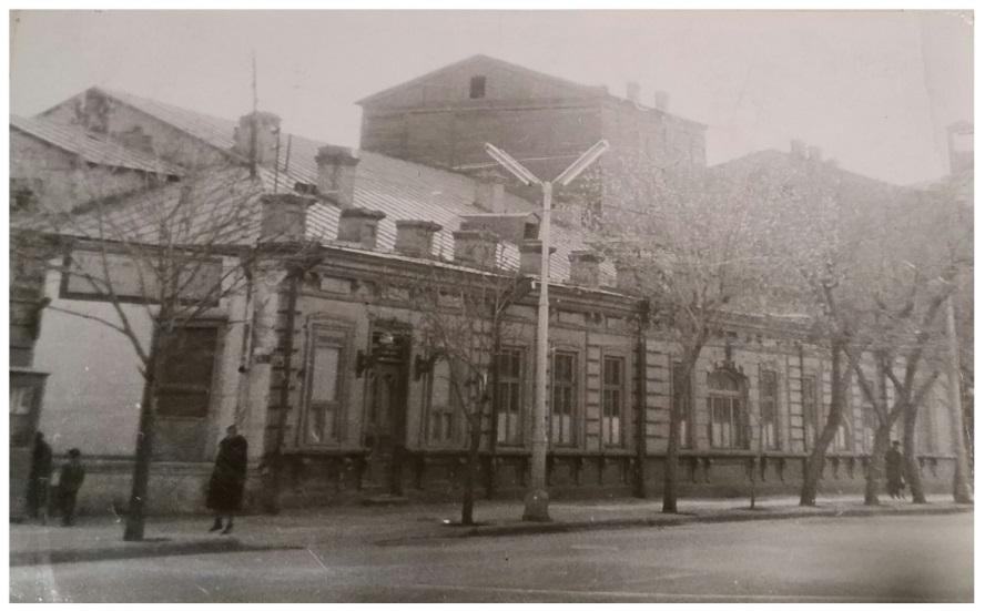 Театр Джанполадяна. Архив Музея истории города Ереван.