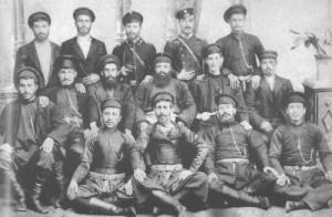 Бойцы добровольческих отрядов Ахалциха