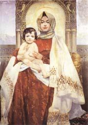 Вардгес Суренянц. Мадонна с младенцем