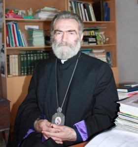 предводитель Арцахской епархии ААЦ архиепископ Паргев Мартиросян. Фото Виктора Коноплёва