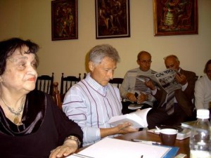 Сэда Вермишева и Григорий Блехман. Фото Юрия Кувалдина