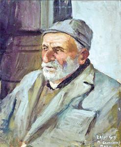 Парсам Симонян «Портрет старика»