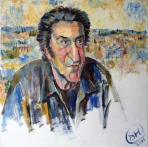 Портрет литератора Игоря Губермана, 2011 г.