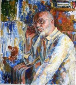 Портрет композитора Леонида Гофмана, 2011 г.