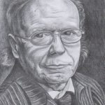 Портрет Эдварда Радзинского