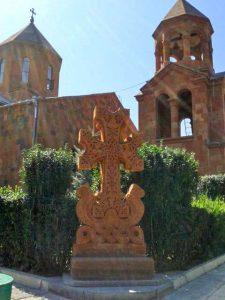 Сурб-Ованес - церковь, в которой я венчалась
