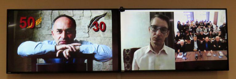 В Степанакерте отметили 50-летие Ашота Бегларяна и 30-летие его творчества